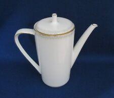 Echt Vintage kl. Kaffeekanne Teekanne Hutschenreuther Noblesse Nr. 9258 Goldrand