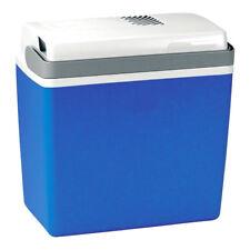 ONE Kühlbox, elektrisch mit 12 V, ca. 21 Liter Fassungsvermögen, in Blau/Weiß