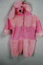 Pink Poodle Puppy Toddler 1 Piece Costume 2T