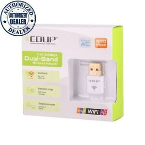 Wireless USB Wifi Adapter AC600Mbps Dual Band 2.4G/5GHz for Laptop & Desktop