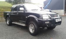 mitsubishi l200 warrior pickup 4x4