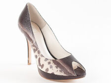 New Christian Dior Snake Skin Multi-Color Shoes  Size 40 US 10