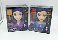 Disney Descendants 3 MAL/EVIE Styling Mini Head With Brush - Hair Style