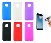 "Case Cover Gel TPU Silicone For Huawei Mate 20 PRO 4G 6.39"" + Optional Protector"