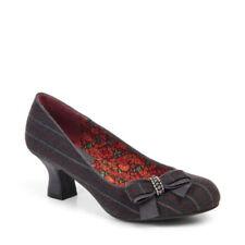 Ruby Shoo Court Heels Pinstripe
