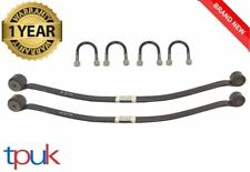 A PAIR OF FORD TRANSIT SINGLE LEAF SPRINGS 2006 ON MK7 2.4 RWD + UBOLTS SPRING