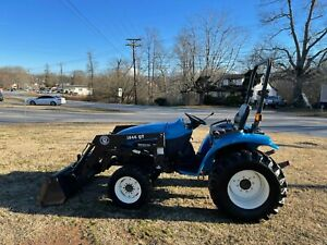 New Holland TC29D 4X4 Loader Tractor with Only 1008 Hours
