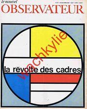 Le nouvel observateur n°177 du 03/04/1968 Vietnam Nanterre Rudnicki Duby Cadres