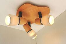 Plafonniers et lustres en bois pour la salle à manger