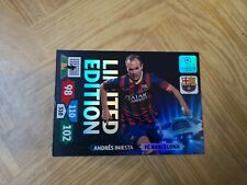 Xavi Iniesta limited edition XXL champions league 2013 /2014