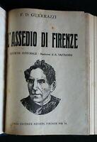 L'ASSEDIO DI FIRENZE. F. D. Guerrazzi. Nerbini.