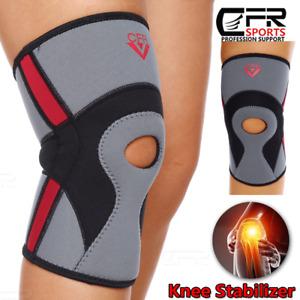 Knee Brace Compression Sleeve Support Open Patella Arthritis Joint Running Sport