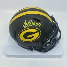 AJ Dillon Signed Green Bay Packers Eclipse Mini-Helmet