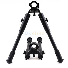 """9.5""""-11.5"""" Tactical Foldable Bipod For Hunting Universal Barrel Clamp Mount"""