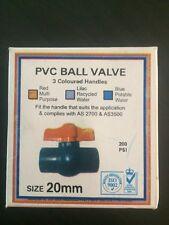 PVC Ball Valve Tap20 Mm Pack Of 2