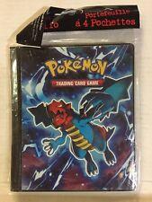 Pokemon Ultra-pro 4 Pocket Binder Plasma Freeze, Holds 80 Cards TCG CCG