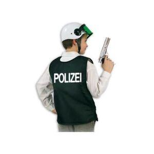 Kinder-Weste Polizei, schwarz Police Swat Polizeiweste