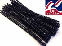 "chenille craft stems pipe cleaners 30cm (12"") long, 6mm wide - lots of colours"