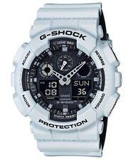 Crazy Deal G-Shock GA100L-7A Military 3-Eye White & Black Ana-Digi Men's Watch