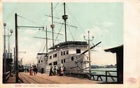 Postcard Ship Hotel Cabrillo in Venice, California~116493