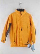 Snozu Kids Youth Junior Boys Yellow Gray Ski & Snowboard Winter Jacket