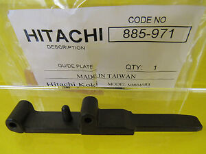 HITACHI 885-971  885971 Guide Plate for N3804AB3 Narrow Crown Stapler NEW