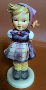 Große Hummel Porzellan Figur 258 Mädchen Rate mal Which Hand 14 cm Goebel TOP
