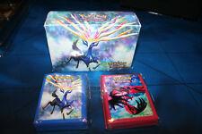 Double Deck Box w/ 130 Sleeves Premium Trainer's Kit Xy Pokemon Xerneas Yveltal