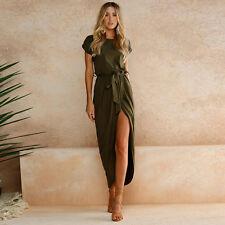 Women Summer Holiday Long Maxi Dress Ladies Evening Party Sundress Plus Size