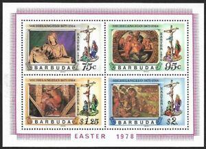 Barmuda 1978 Easter Souvenir Sheet MNH #394