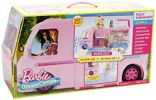 Barbie Pop Out Dream Camper RV Camping Vehicle FBR34 NEW