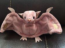 1996 Ty Beanie Baby Batty the Bat W/ Tag PVC Pellets