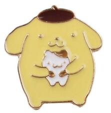 bag pendant pin anime cute Pom Pom Purin pins brooches ornament
