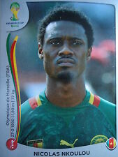 Panini 93 Nicolas Nkoulou Kamerun FIFA WM 2014 Brasilien