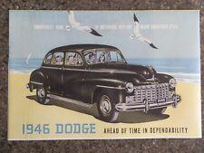 1946 DODGE  ''RARE'' RHD AUST SALES  BROCHURE  100% GUARANTEE