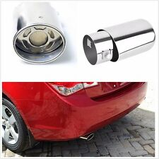 Universal Car Stainless Steel Exhaust Pipe Tip Tail Muffler cover Car Styling