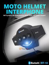 Motorcycle Helmet Headset Wireless Bluetooth Headphone Speaker Hands-Free BT-10