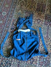 Vintage Rare 80s Snugli2 Denim Baby Carrier Talon 42 Zipper