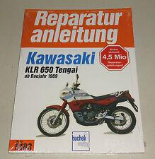 Reparaturanleitung Kawasaki KLR 650 Tengai - ab Baujahr 1989!