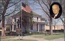 (fbv) Abilene KS: Eisenhower Home and Museum