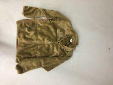 Rothco Combat Fleece Jacket, Men's, Used Condition, Size Medium, Camel Brown