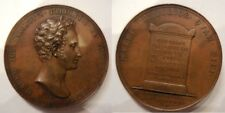 Medaglia morte di Giuseppe Stiozzi Ridolfi 1815 inc. Santarelli Toscana