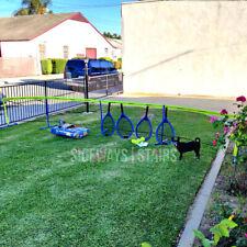 SPORTCRAFT MONSTER TENNIS SET Four Player outdoor sports jumbo lawn 20' net RARE