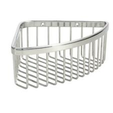 Medium Strong Plastic Design Household Shower Basket In Polished Stainless