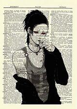 Uta Tokyo Ghoul Anime Dictionary Art Print Poster Picture Book Japanese Manga