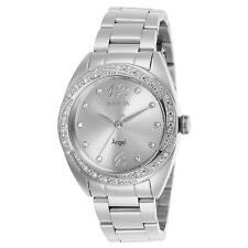 Invicta Women's Angel Steel Bracelet & Case Quartz Analog Watch 27456