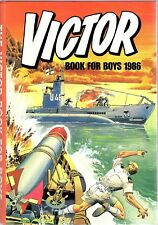 Vintage Victor Annual 1986 Figaro The Creeper Send For Saxon Morgyn The Mighty