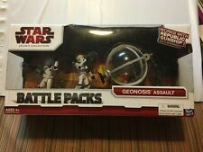 Star Wars Legacy Collection Battle Pack Geonosis Assault New In Package!!
