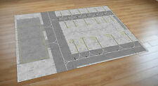1/400 scale Model airport Apron/Foil/ Regional 841mm x 1189mm. Airbus/Boeing