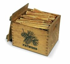 Fatwood Wood Crate 12# Kindling Decorative Fireplace Wood Stove Fire Starter